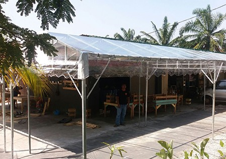 Outdoor Canvas Canopy Supplier In Malaysia-1